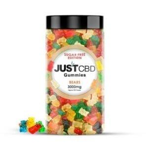 The Green Dragon CBD offers JustCBD Sugar Free Gummy Bears 3000mg. Each gummy has 99.99% CBD hemp isolate which is grown and manufactured in the USA. These delicious gummies come in a clear jar with a wide-mouthed opening and a screw-on lid for freshness.