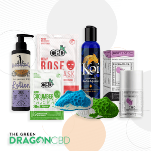 Gift Set of CBD Bath and Body Products