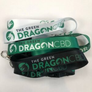 Lanyards swag for The Green Dragon CBD