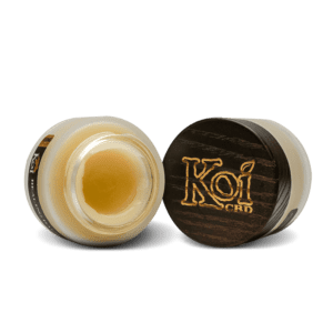The Green Dragon CBD offers Koi Full Spectrum CBD Healing Balm. This all-purpose powerful balm that leaves your skin feeling smooth and restored. Infused with broad-spectrum hemp containing 1000mg of naturally occurring CBD. It comes in a 1.7oz wide-mouthed jar for easy use!