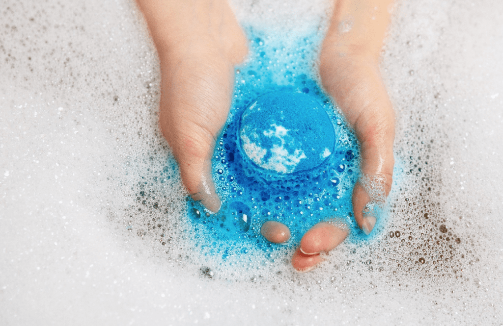 Bath bombs are super easy to use and will leave you feeling refreshed and rejuvenated.