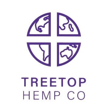 the logo for treetop hemp co.