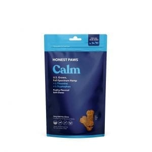 A bag of Honest Paws Calm Soft Chews