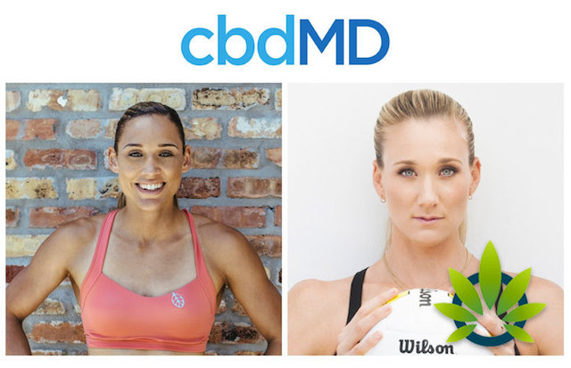cbdMD partners with top Olympians